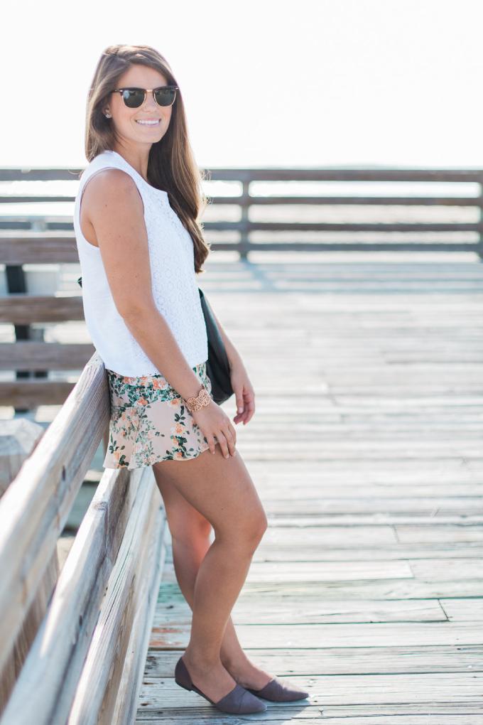 Forever-21-Floral-Shorts